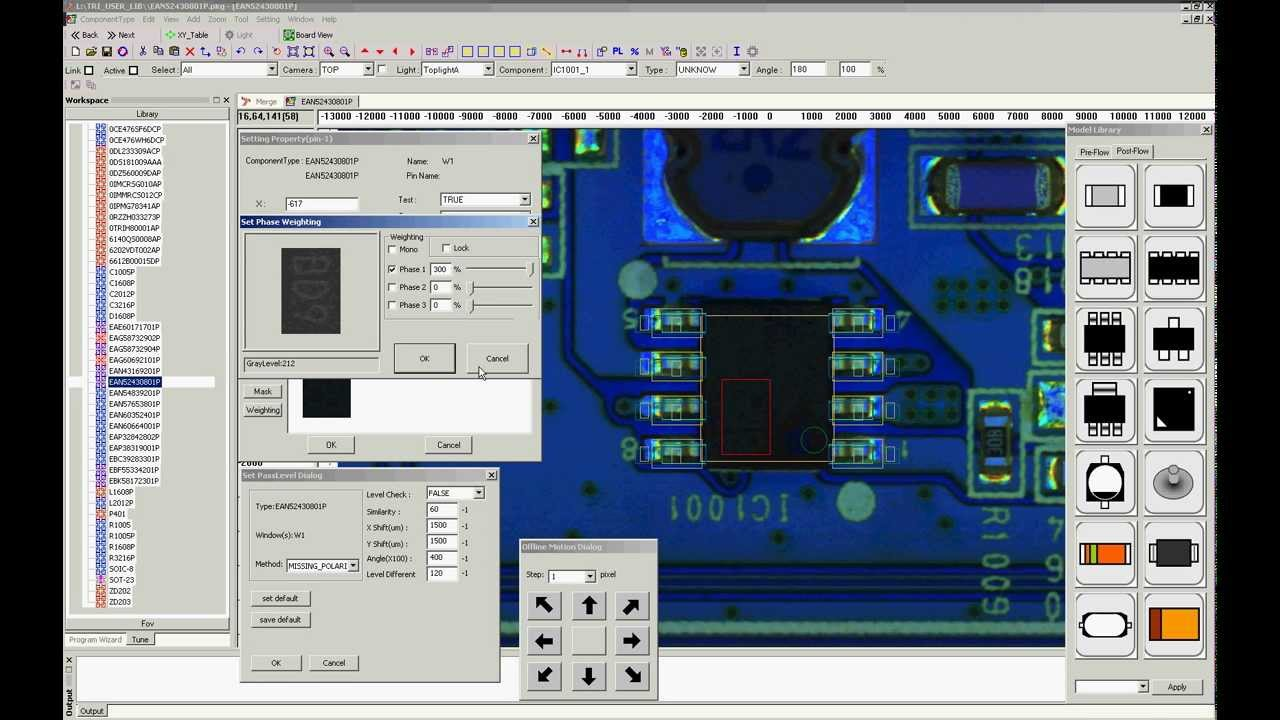 Automated Optical Inspection : Automated optical inspection stim canada